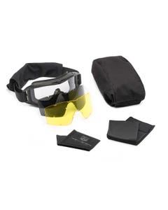 Desert Locust Goggle Deluxe Yellow Kit