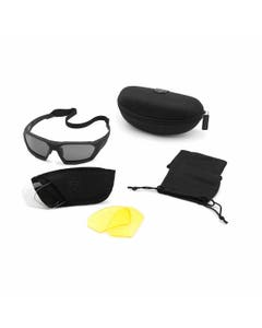 ShadowStrike Ballistic Sunglasses Deluxe Yellow Kit