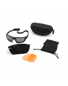 ShadowStrike Ballistic Sunglasses Deluxe Vermillion Kit