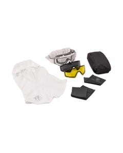 SnowHawk Goggle System Deluxe Yellow Kit
