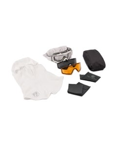 SnowHawk Goggle System Deluxe Vermillion Kit
